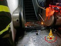 Rolltreppe stürzt ein – mehr als 20 Verletzte in Rom
