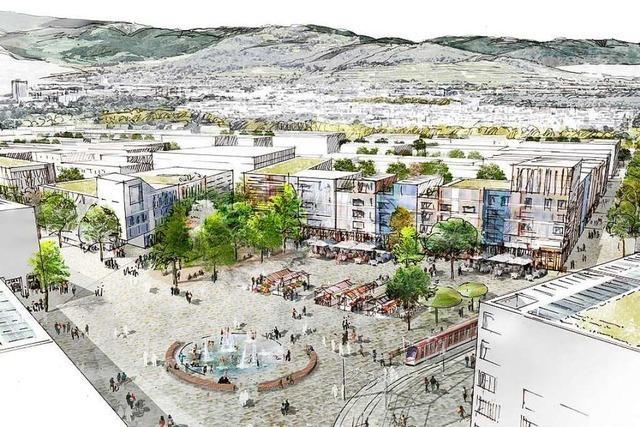 Das ist der Entwurf für den neuen Stadtteil Dietenbach