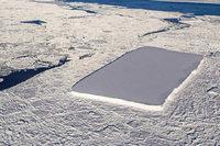 Nasa entdeckt ungewöhnlichen Eisberg in der Antarktis