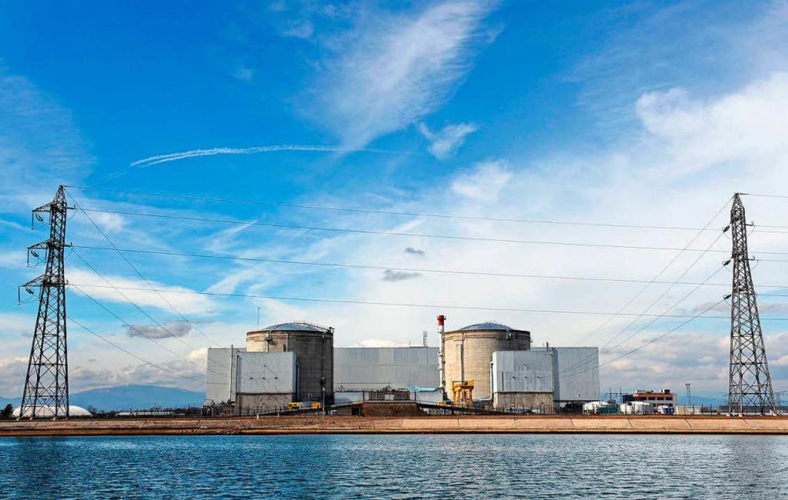 Das Atomkraftwerk Fessenheim in Frankreich  | Foto: AFP