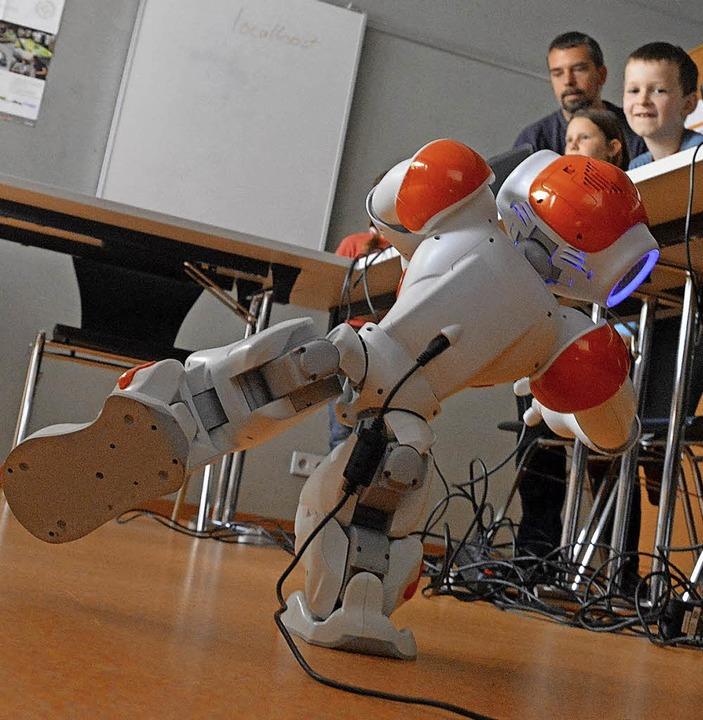 Die Roboter müssen bis zu vier Aufgaben lösen.   | Foto: Archivbild: Barbara Ruda