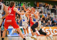 65:86 – die Frauen des USC Freiburg sind am Ende bei Tabellenführer Marburg chancenlos