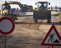 Die alte Kreisstraße ist gesperrt
