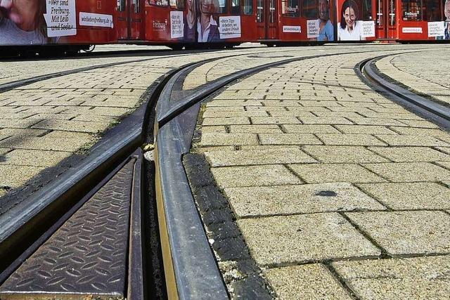 Ab 18 Uhr stehen die Straßenbahnen in der Innenstadt still
