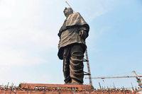 In Indien wird eine 182 Meter hohe Statue eingeweiht