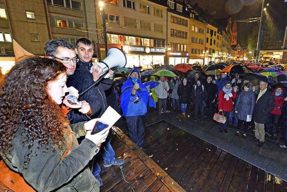 Demo gegen Rechts (Foto: Michael Bamberger)