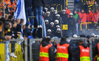 Polizei rechtfertigt Einschreiten gegen Anhänger von Hertha BSC
