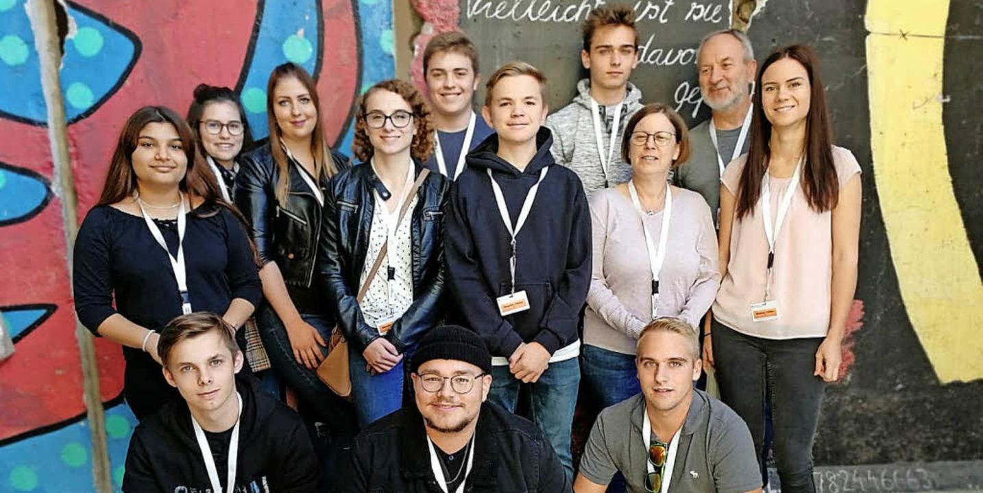 <BZ-FotoAnlauf>In Berlin </BZ-FotoAnla...e Jugendgemeinderäte Politik hautnah.   | Foto: Jugendgemeinderat