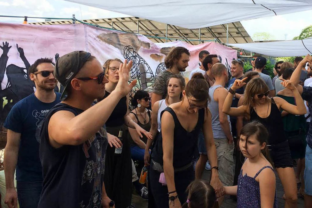 Ohrklang und Fluxus veranstalten am So...2018, wieder den Rhythmischen Tanztee.  | Foto: Ohrklang Events