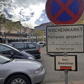 Autos wegen Wochenmarkt abgeschleppt