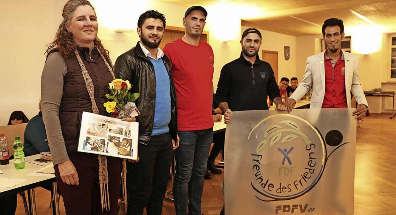 Der neu gewählte Vorstand der Freunde ...rerin Christina Rossmann (von rechts).    Foto: Martha Weishaar