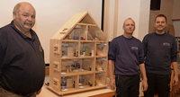 Förderverein stiftet ein Rauchhaus