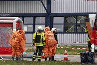 Gefahrenstoff in Heitersheim ausgetreten – Gelände evakuiert