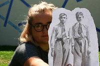 Kunstkurs lässt jüdische Breisacher zeichnerisch wieder aufleben