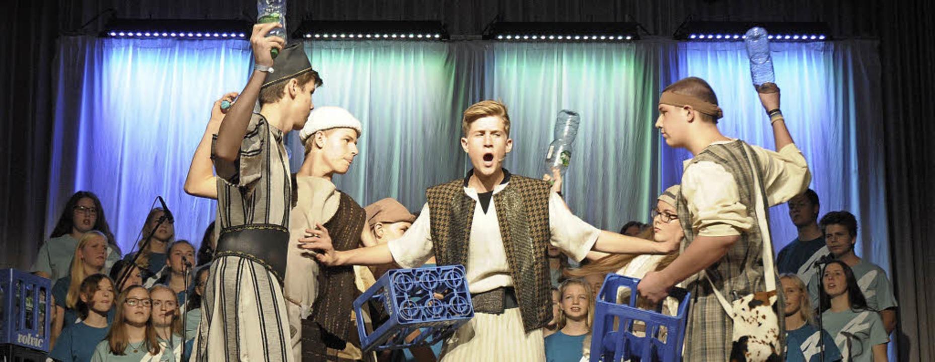 Adonia Musical in Haltingen:  Abrahams...den - da gibt es Streit um Weideland.   | Foto: Ounas-Kräusel