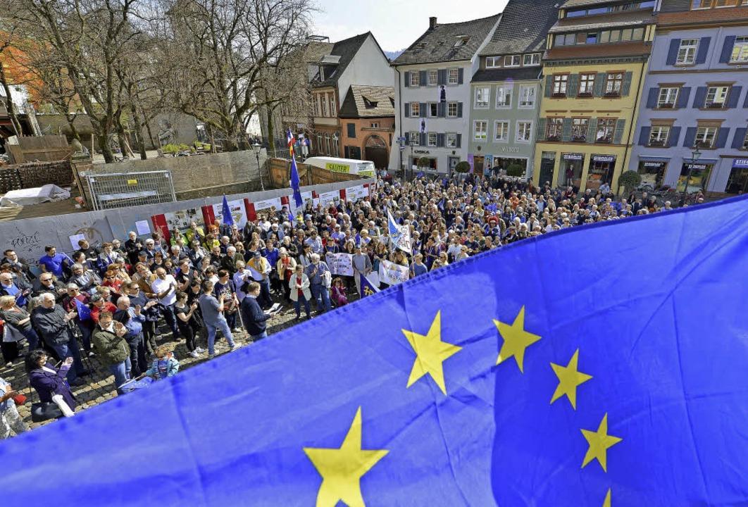 Bisher kämpfte der Freiburger Ableger ...größeren Platz der alten Synagoge tun.    Foto:  bamberger