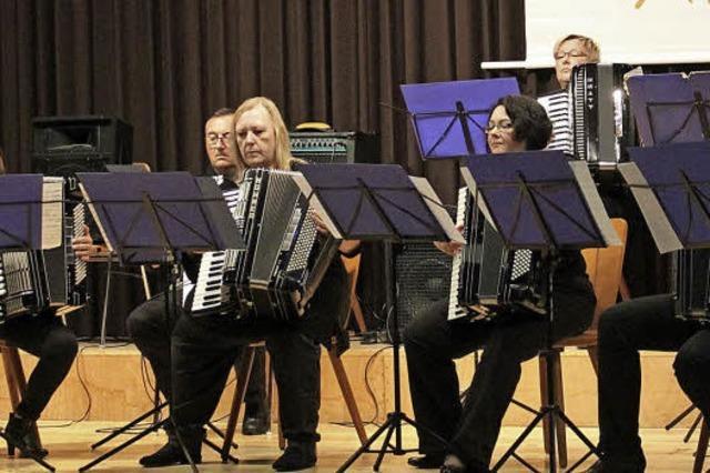 Musikalische Vielfalt trotz geringer Zahl