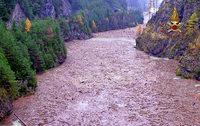 Teile Italiens versinken in den Fluten