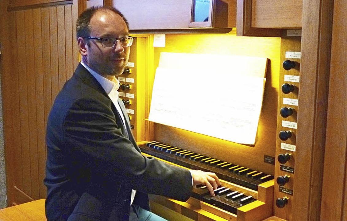 Tobias Lindner an der Orgel.   | Foto: Veranstalter