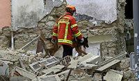 In Marseille stürzen zwei Wohnhäuser ein