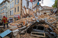 Ein Toter und mehrere Vermisste nach Hauseinstürzen in Marseille