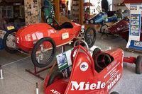 Das Seifenkistenmuseum in Buggingen ist wohl das einzige in Deutschland
