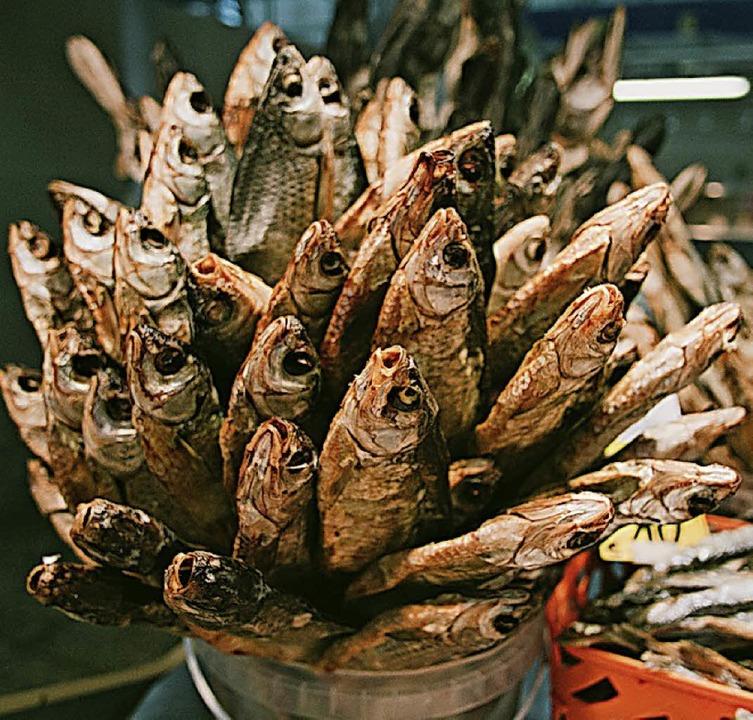 Street-Food: Nikolai Ott fotografierte Fisch-Sticks.  | Foto: Nikolai Ott