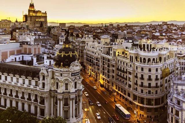 Madrid ist der Mittelpunkt Spaniens