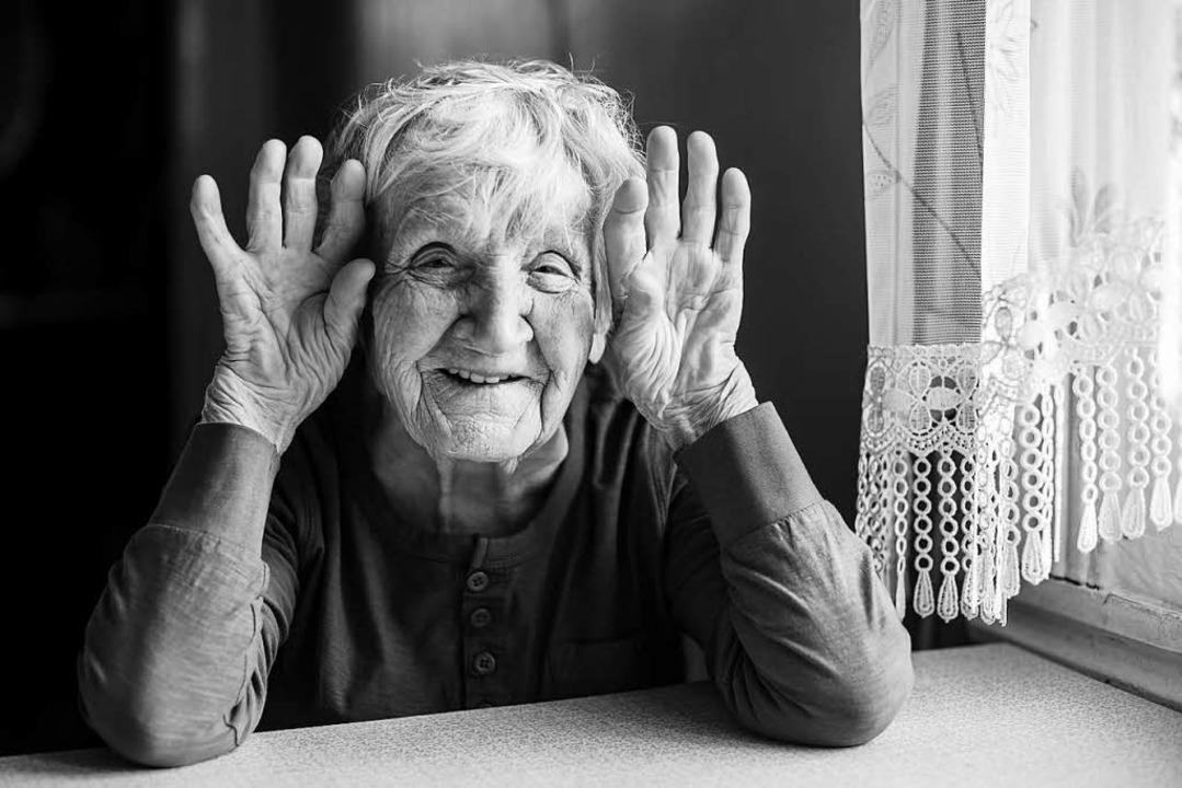 Sie hat gut lachen: Ihre Rente steigt kräftig.   | Foto: Stock.Adobe