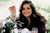 Köchin Luisa Zerbo macht auf der Plaza Culinaria herzhafte Macarons