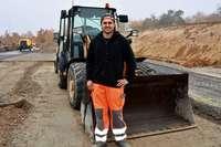 Für Robert Pastian ist Straßenbauer ein Traumberuf