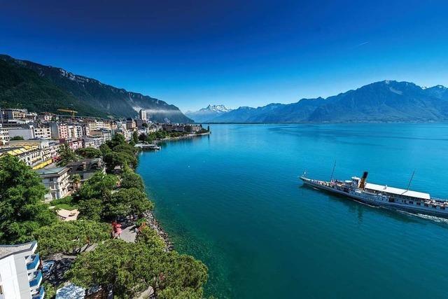 Montreux, die Perle am Genfer See
