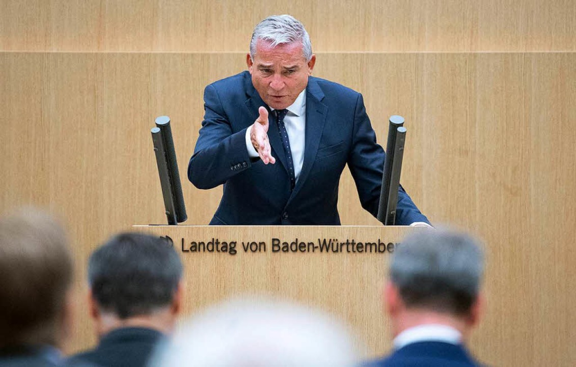 Innenminister Thomas Strobl (CDU)  | Foto: dpa