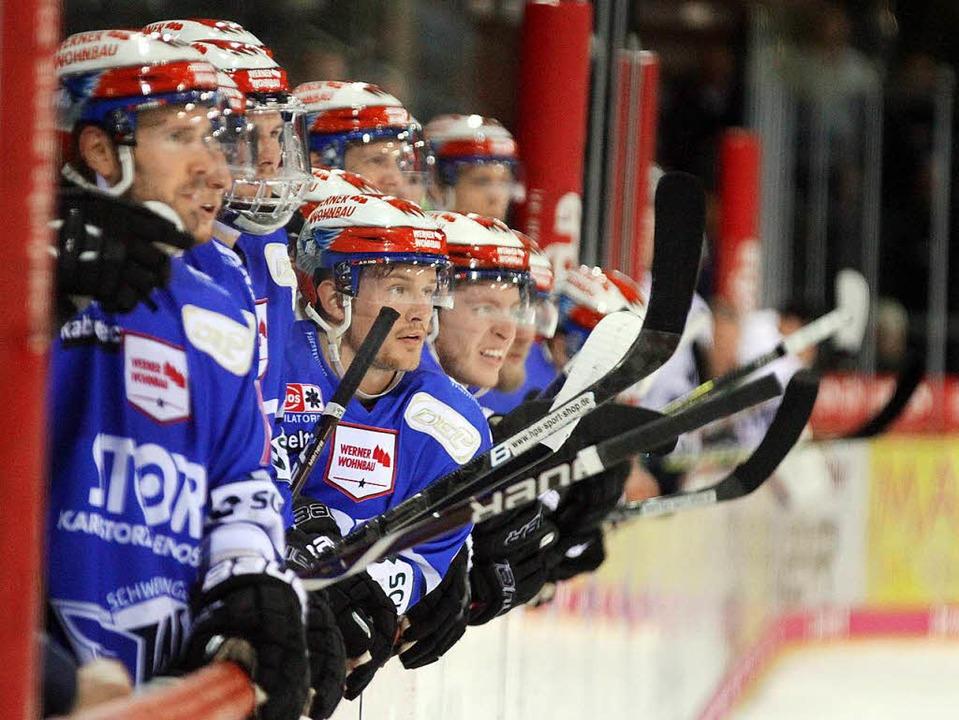Das große Warten auf die Wende bei den Schwenninger Eishockeyspielern     Foto: Dieter Reinhardt