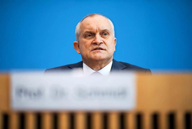 hristoph Schmidt, Vorsitzender des Sac...er gesamtwirtschaftlichen Entwicklung.    Foto: dpa