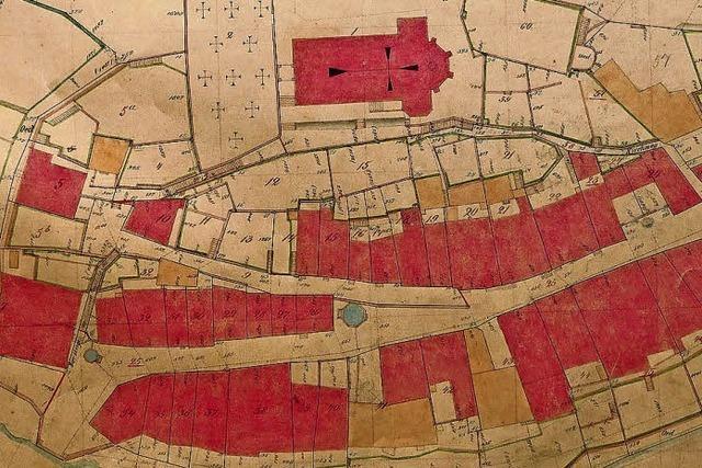 Kleinlaufenburg zählte 177 Grundstücke