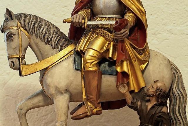 Der heilige Martin: Von dem Reiter, der seinen Mantel teilt