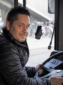 UNTERWEGS...: Vom Berufsmusiker zum Busfahrer