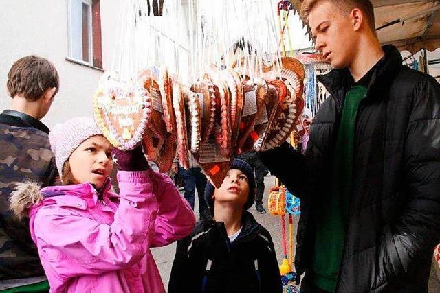 Fotos: Görwihler Martinimarkt mit Fasnachtsproklamation
