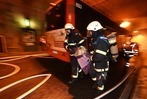 Fotos: Rettungsübung im Kappler Tunnel