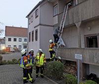 Feuerwehr stellt ihre Schlagkraft unter Beweis