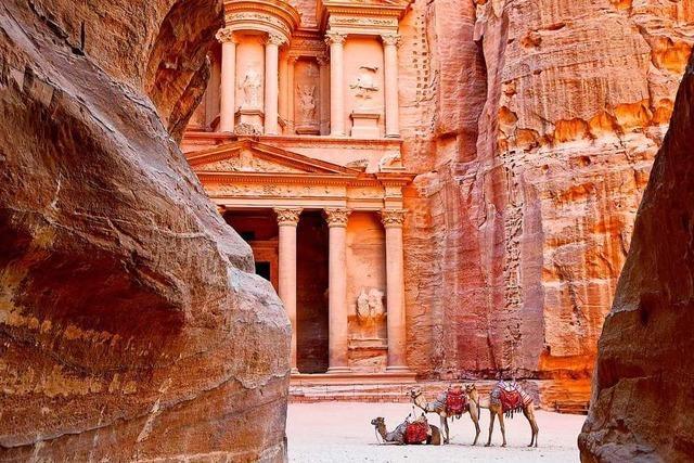Jordaniens historische Spuren