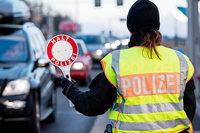 Polizei nimmt Straftäter am Autobahnübergang Rheinfelden fest
