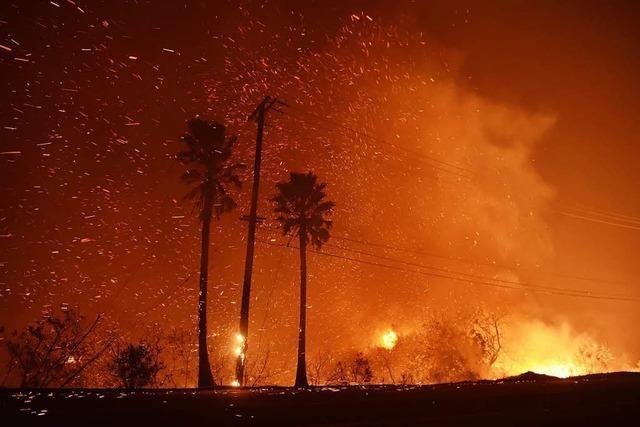 So verheerend sind die Feuer in Kalifornien