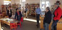 Blick auf die bewegte Geschichte der Bücherei
