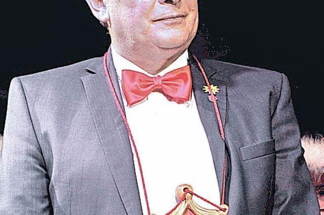 Schrätteli-Orden für Uli Merkle