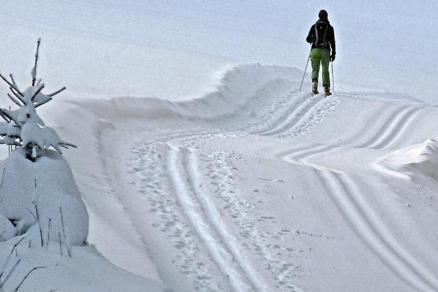 Schnee bis in den März hinein