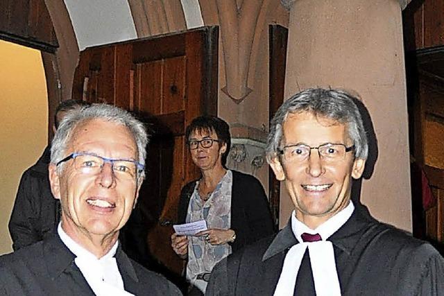 Theo Breisacher ist der neue Pfarrer