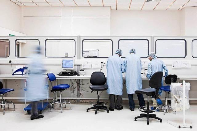 So soll das neue Gebäude des Unternehmens Fisher Clinical in Rheinfelden aussehen