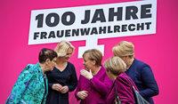 """Merkel: """"Das Ziel muss Parität sein"""""""